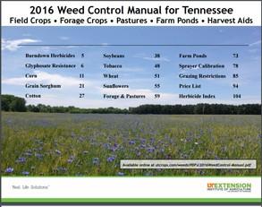Weed Control Manual