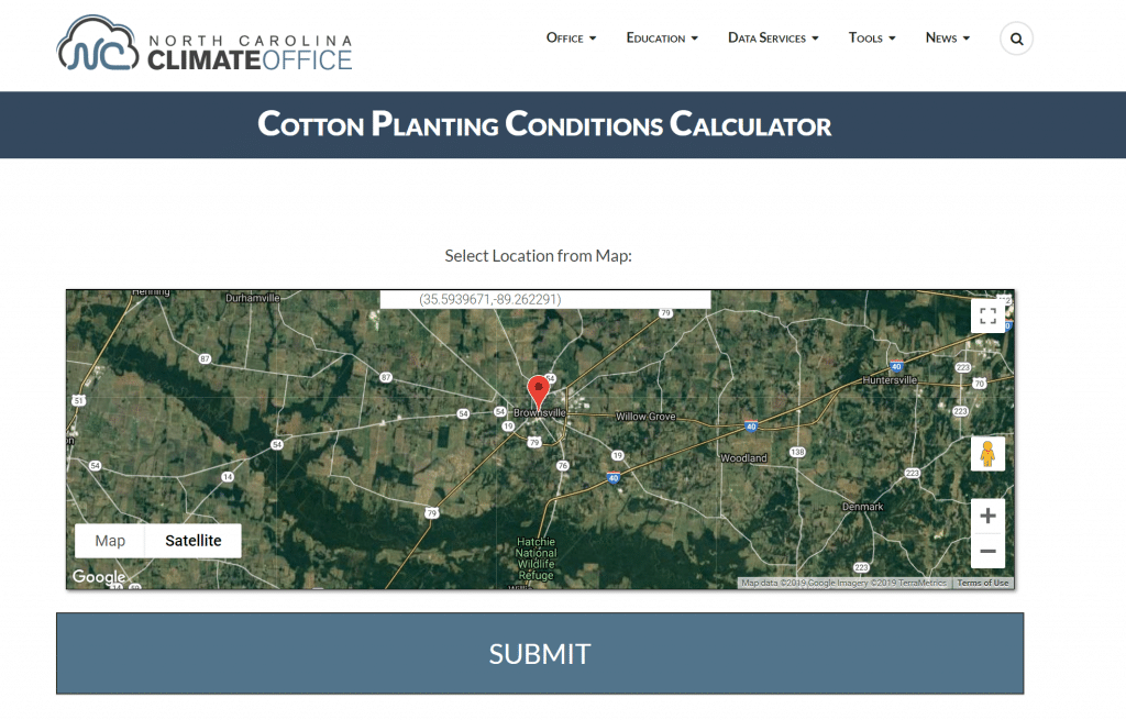 New cotton planting forecast tool from NC State